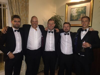 PMD Leasing attend the Haydock 35th Anniversary Dinner