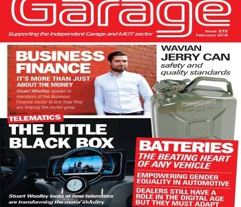 PMD featured in the latest edition of Garage and MOT